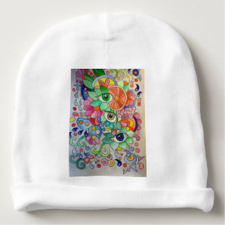 Bonnet Pour Bébé Oeils en couleur