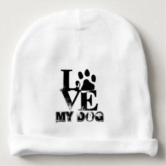 Bonnet Pour Bébé pattes d'amour mon chien
