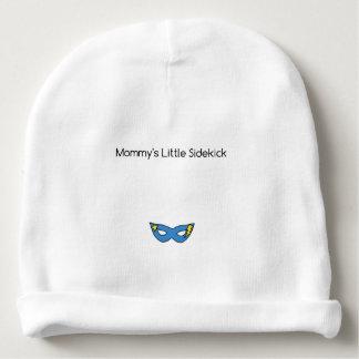 Bonnet Pour Bébé Petit bleu de masque de super héros de l'associée