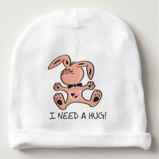 Bonnet Pour Bébé Petit lapin rose mignon qui a besoin d'une