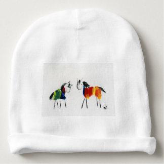 Bonnet Pour Bébé Peu de poneys d'arc-en-ciel