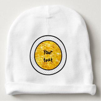 Bonnet Pour Bébé Photo en verre crépitée ambre