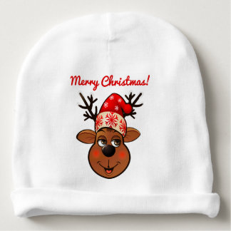 Bonnet Pour Bébé Renne mignon avec le casquette de Noël
