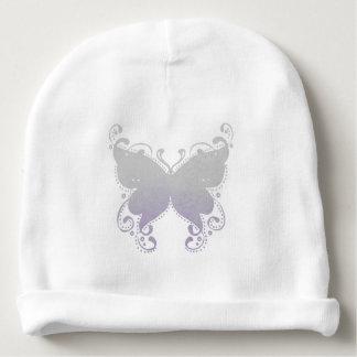 Bonnet Pour Bébé Silhouette en pastel de papillon - calotte de bébé