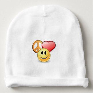 Bonnet Pour Bébé Sourire d'amour de paix