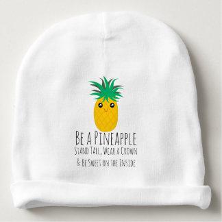 Bonnet Pour Bébé Soyez un support d'ananas grand soit doux