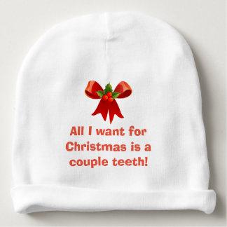 Bonnet Pour Bébé Tous que je veux pour Noël