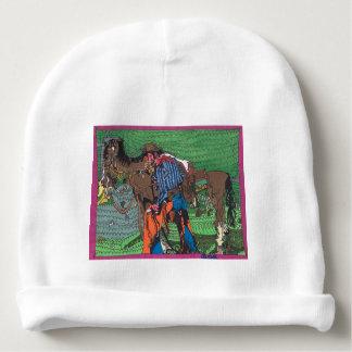 Bonnet Pour Bébé Un d'un cowboy aimable