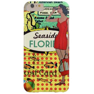 Bord de la mer de la Floride baignant le rétro Coque Barely There iPhone 6 Plus