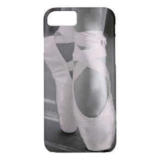 Bord - de roze Schoenen van het Ballet iPhone 8/7 Hoesje