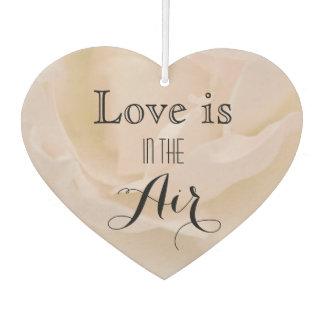 Bord - het roze nam Liefde is in de Gunsten van Luchtverfrisser