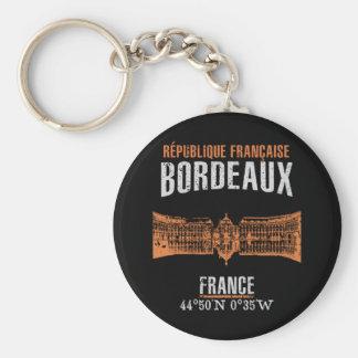 Bordeaux Sleutelhanger