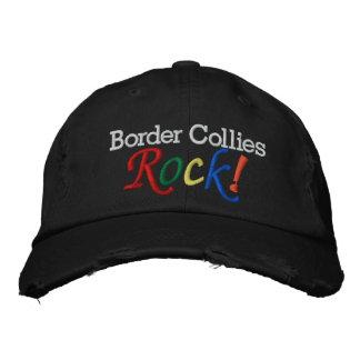 Border collie/casquette de l'amoureux des chiens casquette brodée