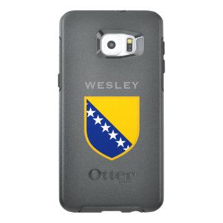 Bosnia - van Herzegovina Vlag OtterBox Samsung Galaxy S6 Edge Plus Hoesje