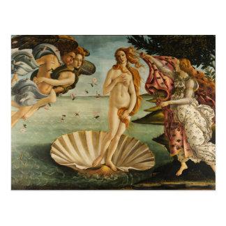 Botticelli la naissance de la carte postale de