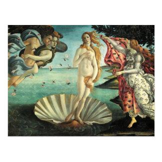 Botticelli - naissance de Vénus Carte Postale