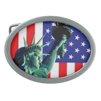 Boucle de ceinture américaine