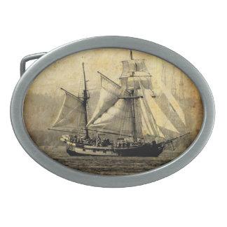 Boucle de ceinture de bateau de pirate