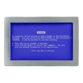 Boucle de ceinture de BSOD - écran bleu de la mort