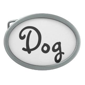 Boucle de ceinture de chien
