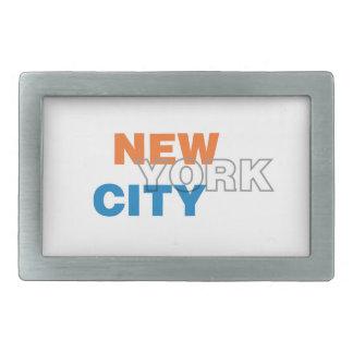 Boucle de ceinture de New York City