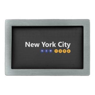 Boucle de ceinture de New York City, New York