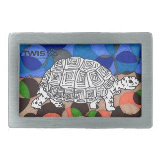 Boucle de ceinture de TWIS : La tortue faisante le