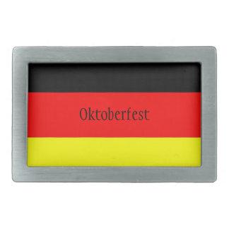 Boucle de ceinture d'Oktoberfest