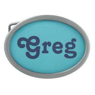 Boucle de ceinture Greg