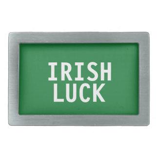 Boucle de ceinture irlandaise de chance