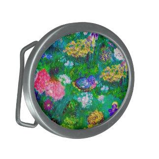 Boucle De Ceinture Ovale Animaux dans la collection de cadeau d'art de