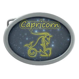 Boucle De Ceinture Ovale Capricorne intelligent