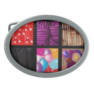 Boucle De Ceinture Ovale Concepteur de tissu de mode