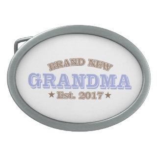 Boucle De Ceinture Ovale Est tout neuf de grand-maman. 2017 (pourpre)