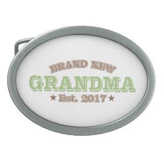 Boucle De Ceinture Ovale Est tout neuf de grand-maman. 2017 (vert)