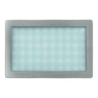 Boucle De Ceinture Rectangulaire Arrière - plan Checkered de motif de rétro guingan
