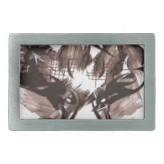 Boucle De Ceinture Rectangulaire Cerfs communs