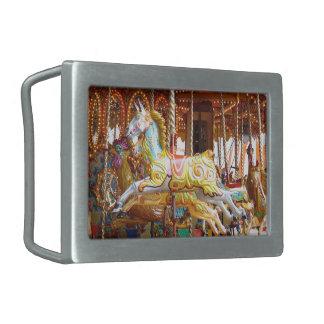 Boucle De Ceinture Rectangulaire Cheval de carrousel