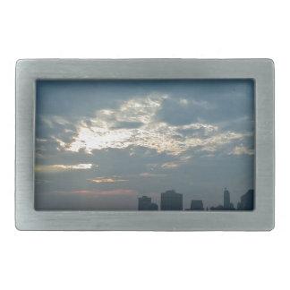 Boucle De Ceinture Rectangulaire Coucher du soleil Manhattan1