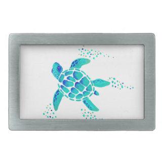 Boucle De Ceinture Rectangulaire La tortue de Neptune