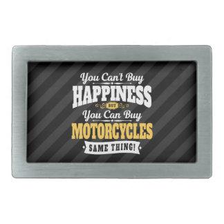 Boucle De Ceinture Rectangulaire Le bonheur d'achat de pente de motocycliste peut