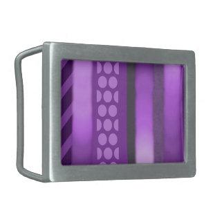 Boucle De Ceinture Rectangulaire Le pourpre modèle la boucle de rectangle