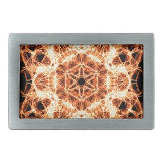 Boucle De Ceinture Rectangulaire Mandala d'éclairage