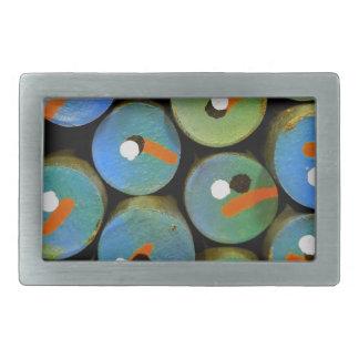Boucle De Ceinture Rectangulaire Paon industriel
