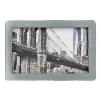 Boucle De Ceinture Rectangulaire Paysage urbain Etats-Unis de ville d'horizon