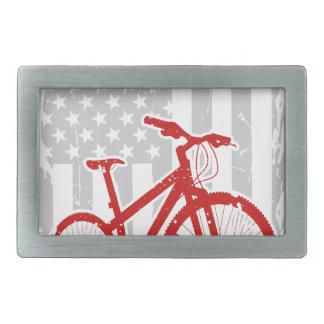 Boucle De Ceinture Rectangulaire T-shirt de recyclage de drapeau américain