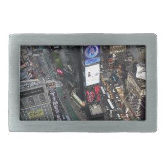 Boucle De Ceinture Rectangulaire Times Square de NYC