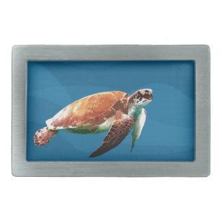 Boucle De Ceinture Rectangulaire Tortue de mer