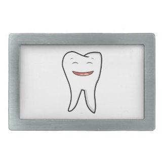 Boucle De Ceinture Rectangulaire Une dent très heureuse