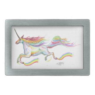 Boucle De Ceinture Rectangulaire Voler de poney de cheval de Pegasus de licorne